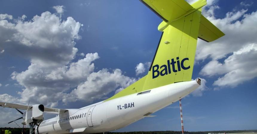 В мае выросла заполняемость самолетов «АйрБалтик»