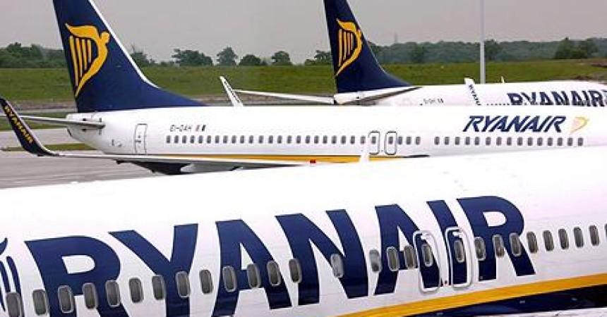 Ryanair открыла три новые базы в Европе