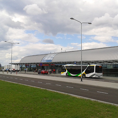 Варшавский Модлин открылся после затяжного ремонта взлетной полосы
