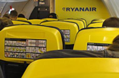 «Райанэйр» распродает 100000 мест по 17,99 евро