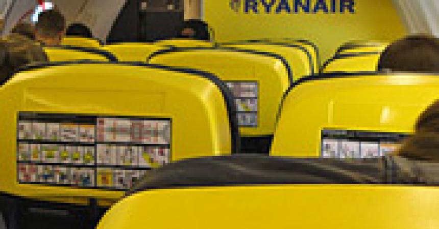 «Райанэйр» снижает доплаты за выбор места