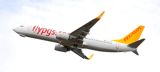 Скромная «Пегасус Эйрлайнс» была признана сайтом «Вич Эйрлайнз» самым дешевым авиаперевозчиком Европы.
