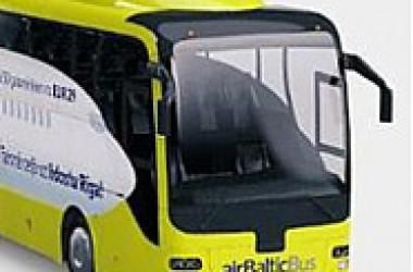 «Эйр Балтик» вводит автобусные маршруты в города Прибалтики
