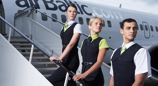 От желающий повязать фирменный зеленый галстук у «Эйр Балтик» нет отбоя.