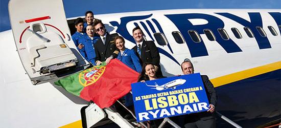 В апреле 2014 года Лисаббон станет 65 базовым аэропортом «Райанэйр»