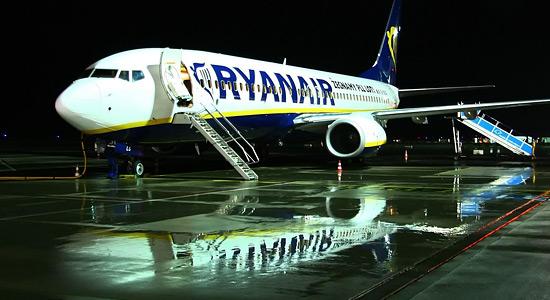 «Боинг 737» авиакомпании «Райанэйр»