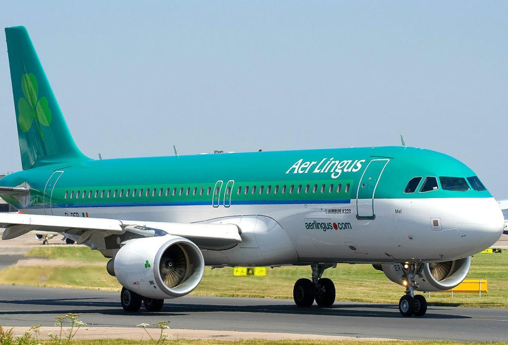 Самолёт авиакомпании Aer Lingus