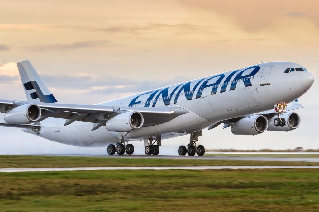 Самолёт авиакомпании Finnair