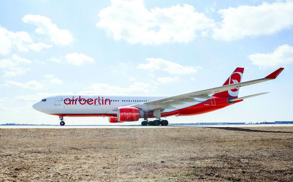 Самолёт авиакомпании AirBerlin