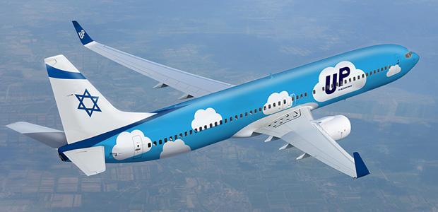 «Боинги» израильской бюдежетной авиакомпании «Ап» все чаще можно будет увидеть в небе над Украиной