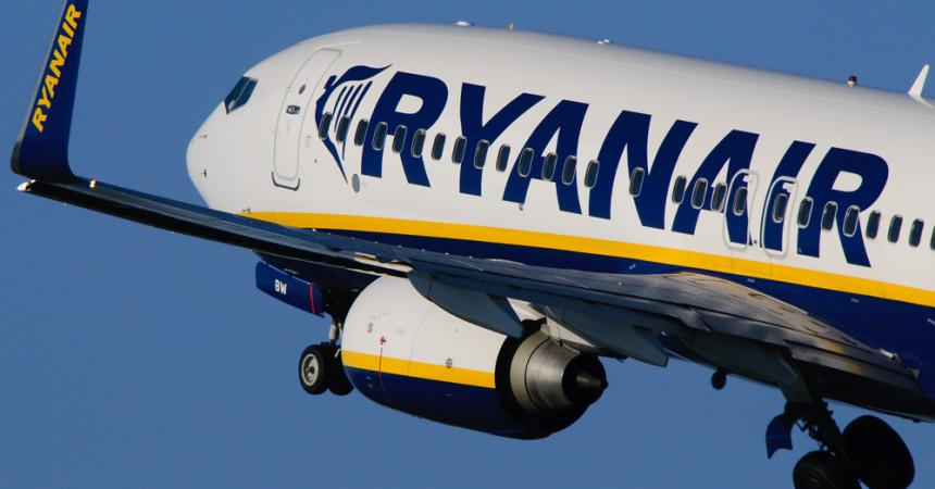 Ryanair увеличит число полетов из Литвы  и откроет польскую базу в Гданьске