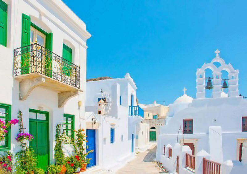 Аморгос в Греции