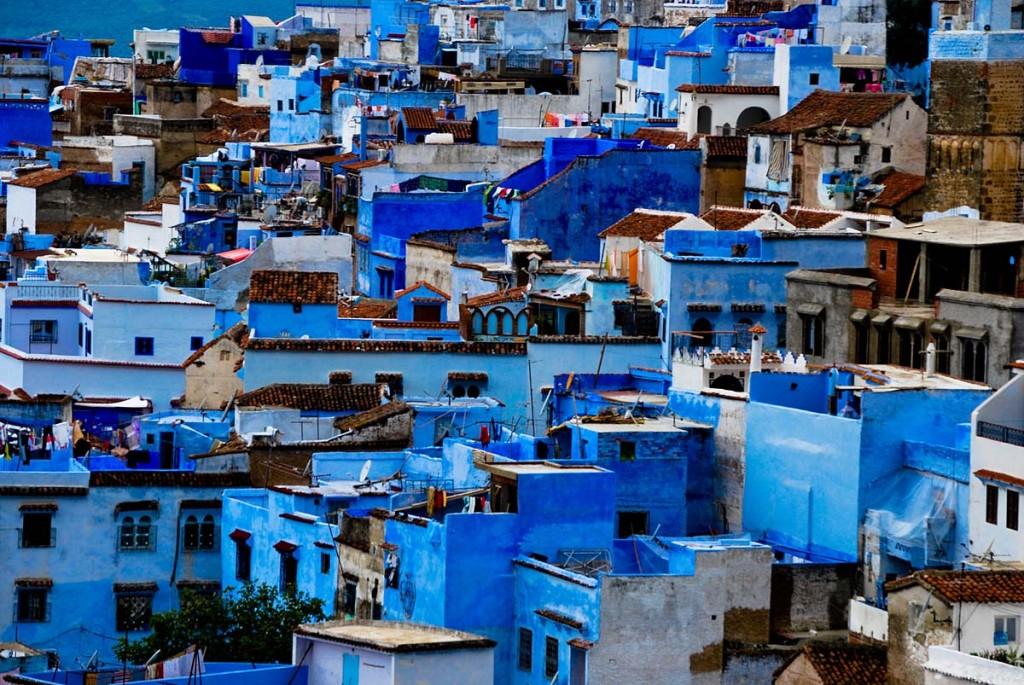 Шефшауен в Мароко
