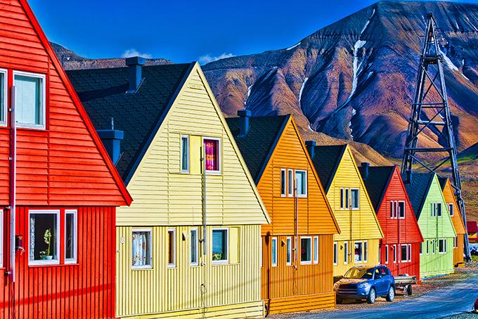 Лонгйир в Норвегии