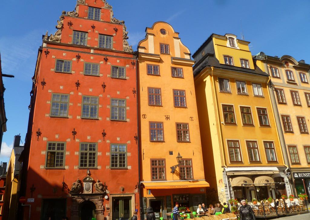 Площадь Сторторгет в Стокгольме