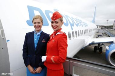 Российский лоукостер «Добролет» совершил первый рейс (фотофакт)