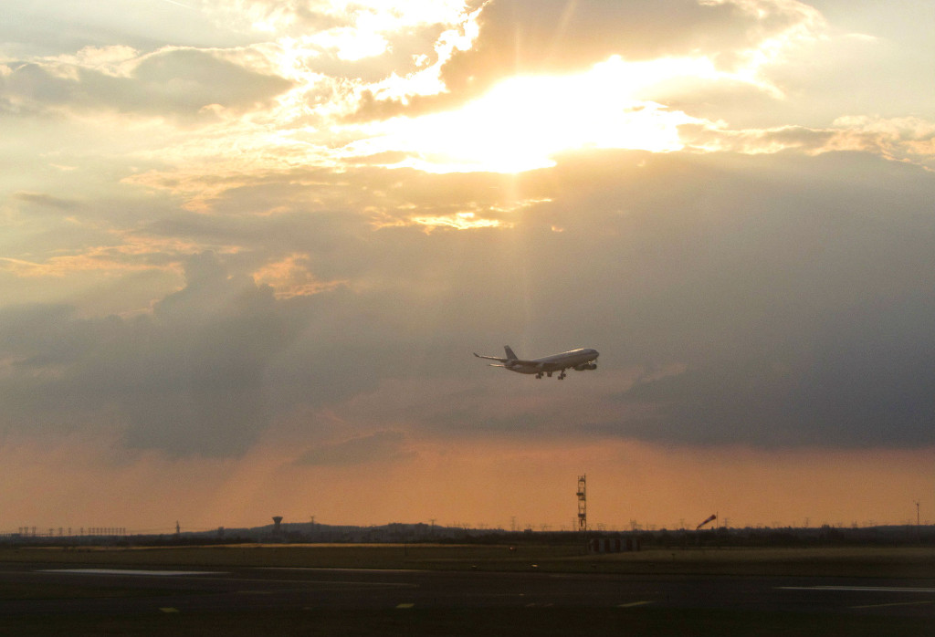 Мягкая посадка была совершена в аэропорту Праги им. Вацлава Гавела