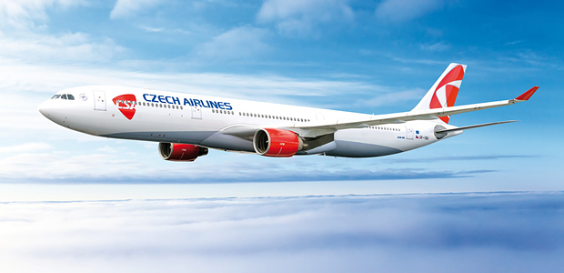 «Аэробус А330» «Чешских авиалиний»
