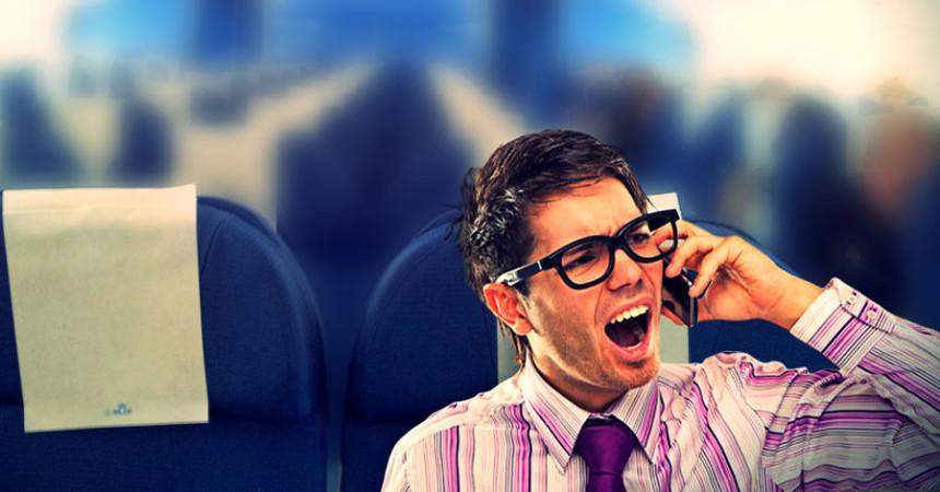 EASA разрешило использование мобильных в самолетах
