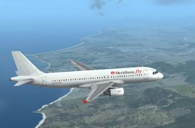 Итальянский лоукостер Meridiana  запускает рейс Львов-Неаполь