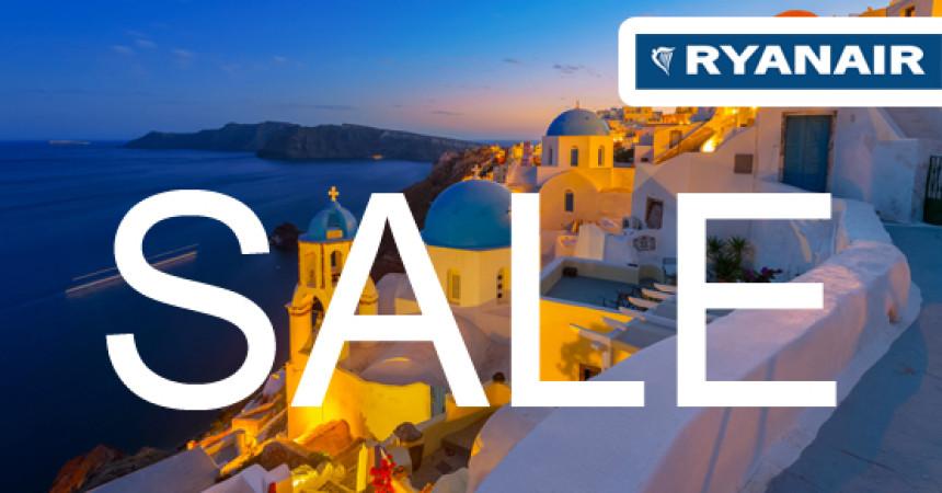 Распродажа у Ryanair! Спешите за билетами!