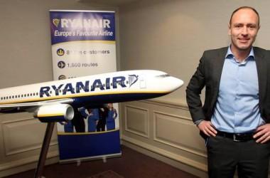 Кенни Джейкобс из Ryanair рассказал, какой будет авиакомпания в 2018 году