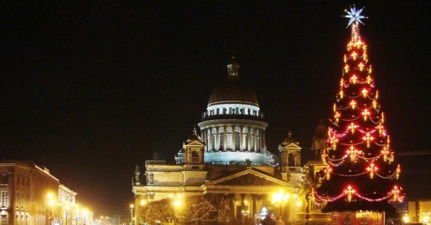 На Рождество в Санкт-Петербург из Минска за 81 евро