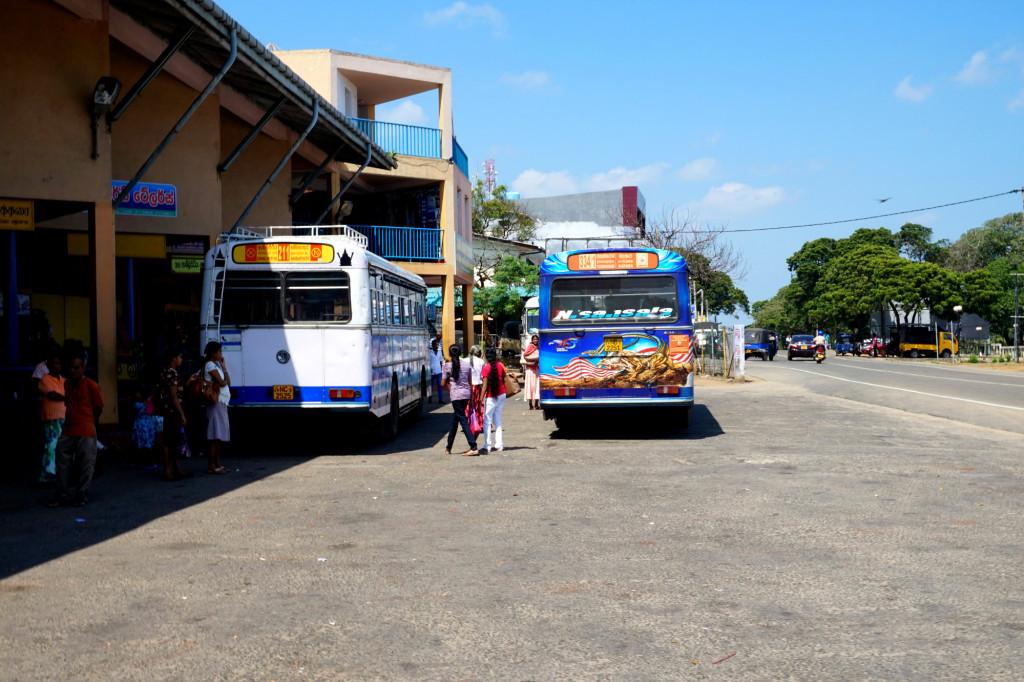 Автобусная станция в Хамбантоте