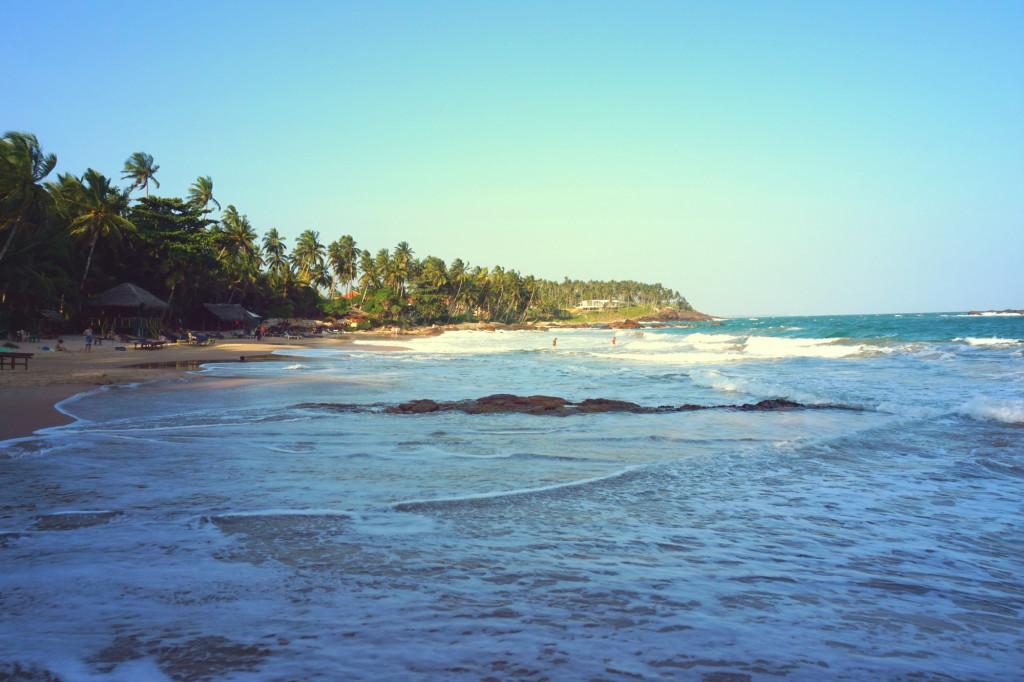 Пляж Гоямбокка в Тангалле