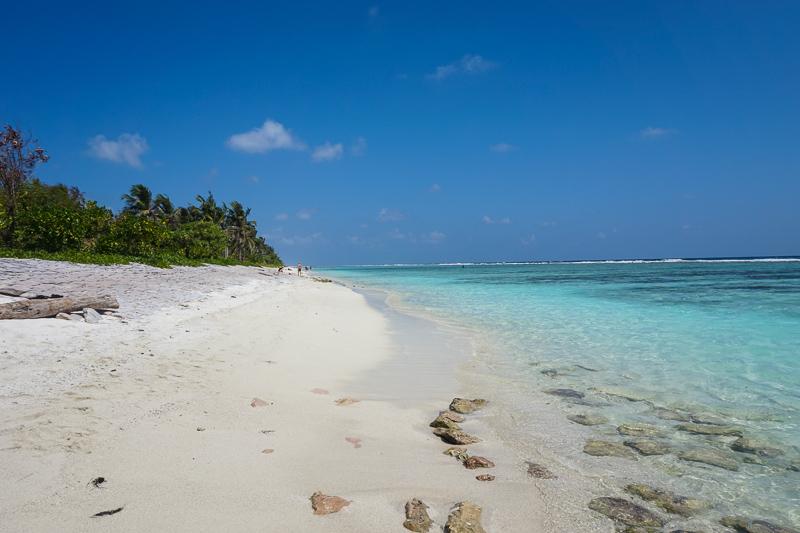 Так выглядит пляж в Хулумале