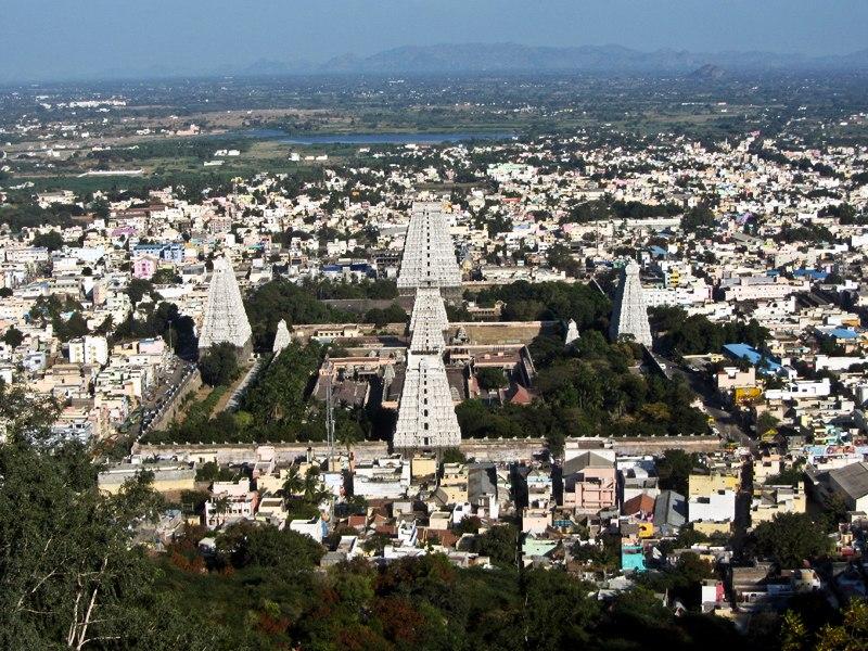 Тируванамалаи, штат Тамил Наду