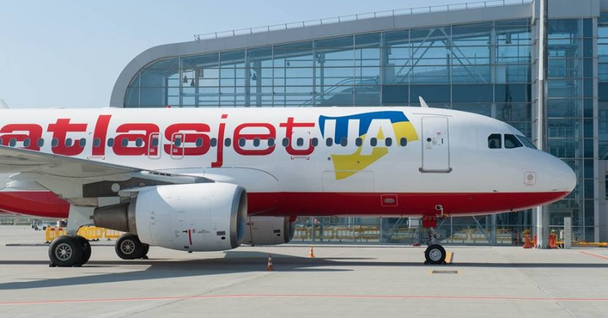 Из Минска в Киев на борту лоукоста! Atlasjet поставил Минск в план полётов