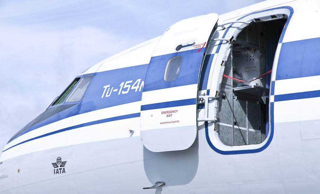 Полет на самолёте ТУ-154