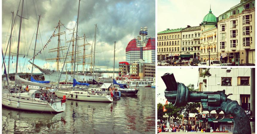 Гётеборг, город воды и мостов, от 43 евро в обе стороны!