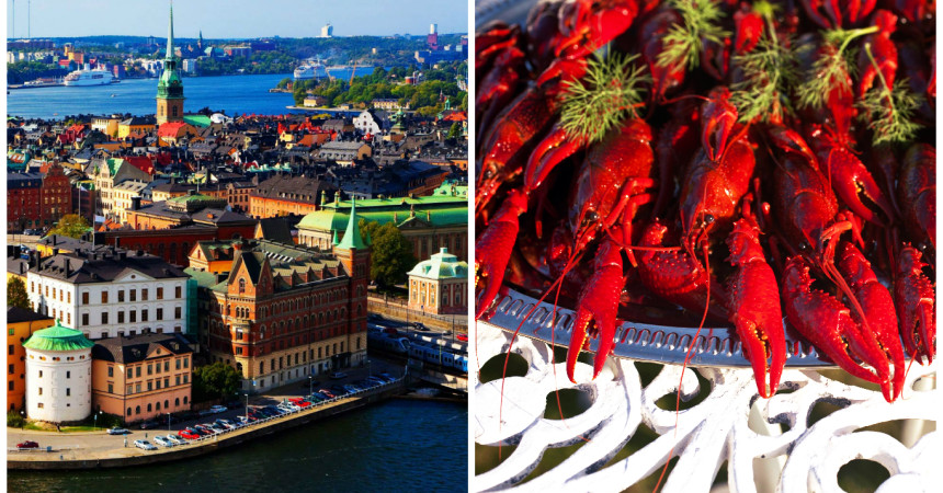 Летим в Стокгольм на Праздник речного рака от 48 евро!