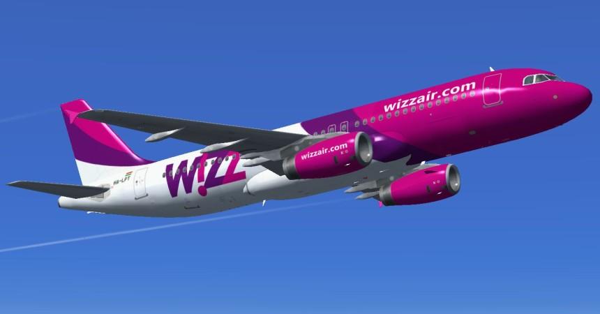 Акция от Wizz Air: 27 июля скидка 20% на все рейсы!