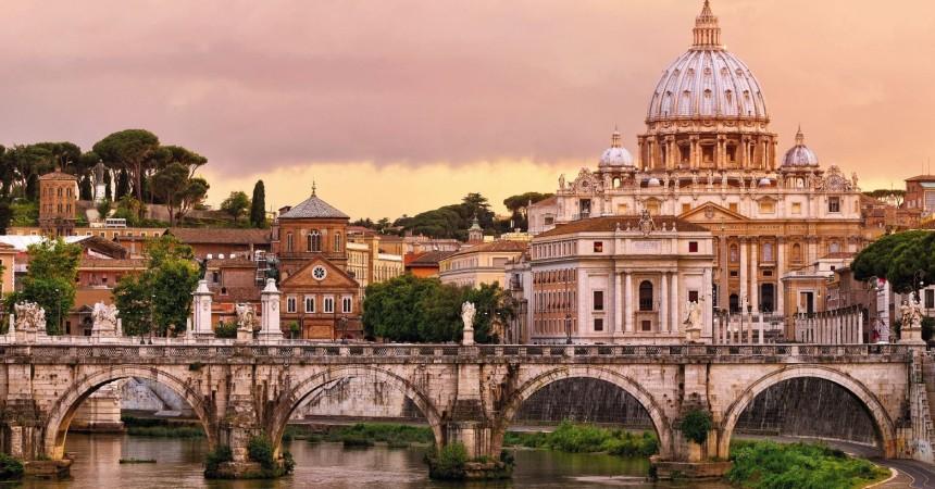 Рим в декабре от 82 евро в обе стороны!