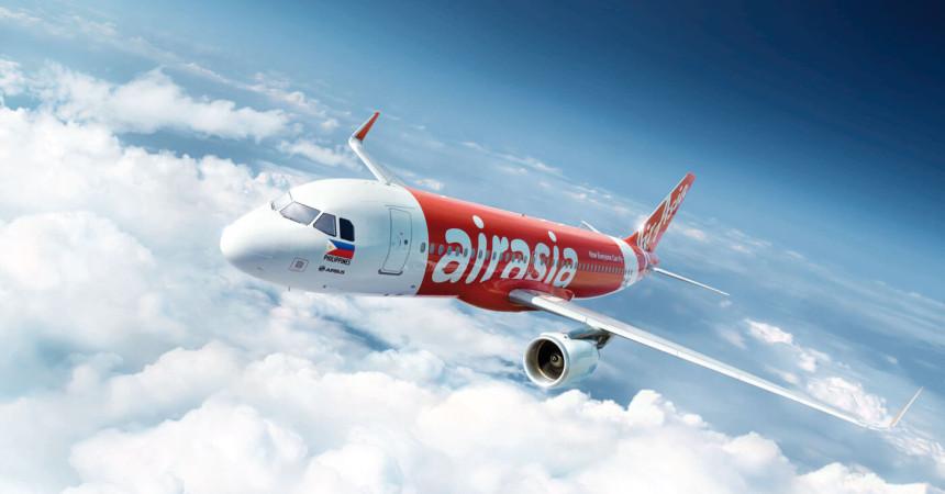 Распродажа от AirAsia: внутренние рейсы от 2 евро, международные — от 10 евро!