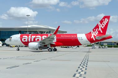 Большая распродажа от AirAsia: цены стартуют от 2 евро!