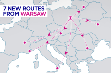 Плюс 7 новых направлений Wizz Air из Варшавы