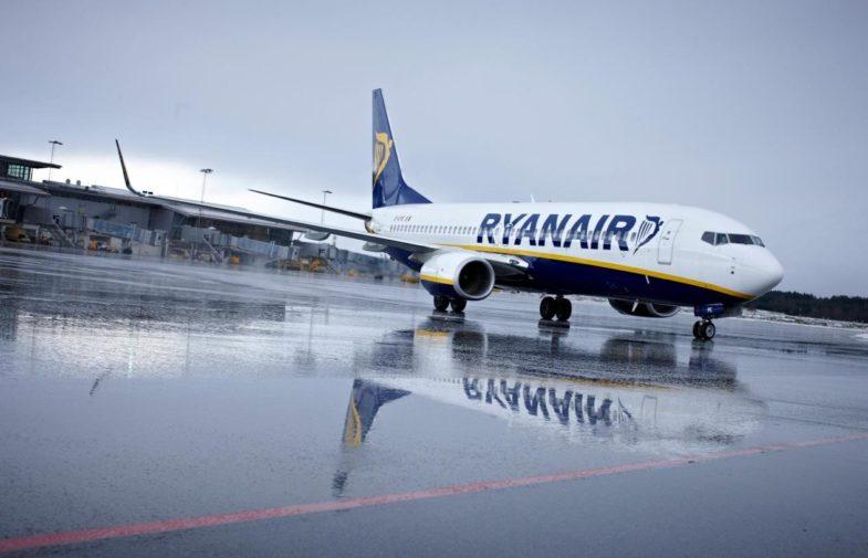 Ryanair объявит о своем заходе в Украину 15 марта