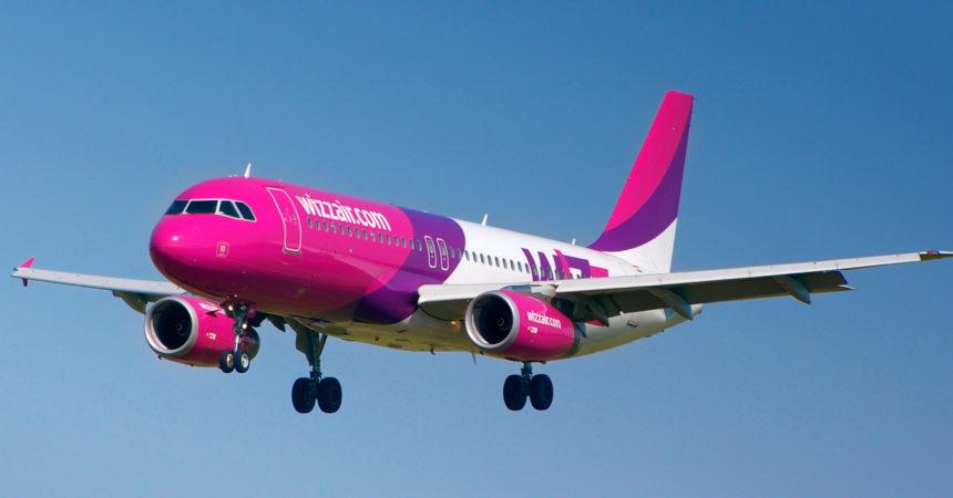 WizzAir радует очередной распродажей! Скидки для всех!