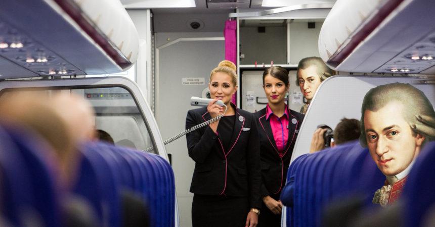 WizzAir будет летать из Вены на 9 городов чаще!