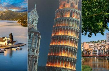 Крутое европейское путешествие в апреле всего за 42€! 5 стран, 4 перелета и теплый остров